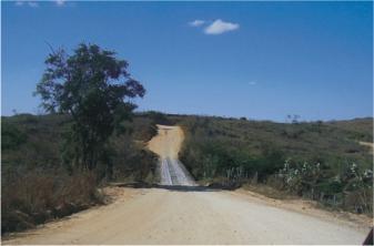 A rodovia principal, que vergonha!